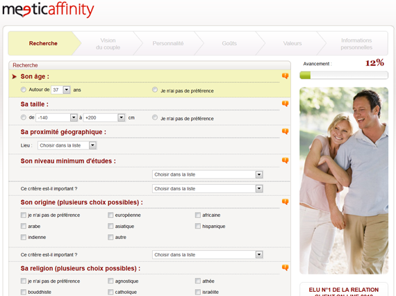 Affinity exchange dating site