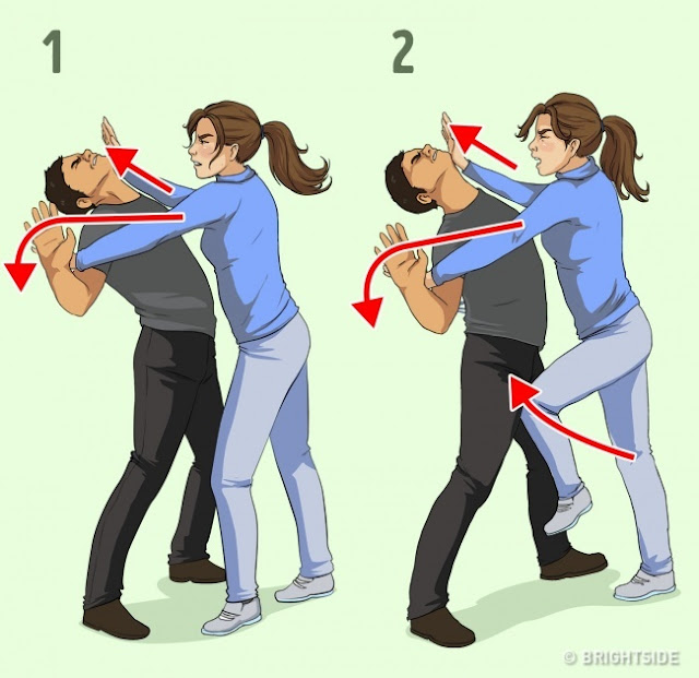 cara pertahanan diri yang ringkas dan mudah
