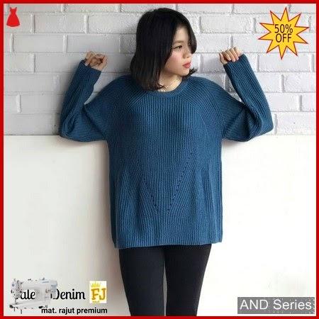 AND351 Baju Atasan Wanita Blouse Valery Denim BMGShop