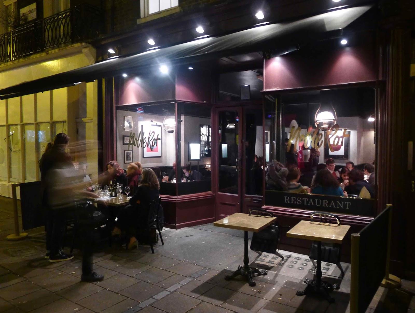 Noble Rot Restaurant London