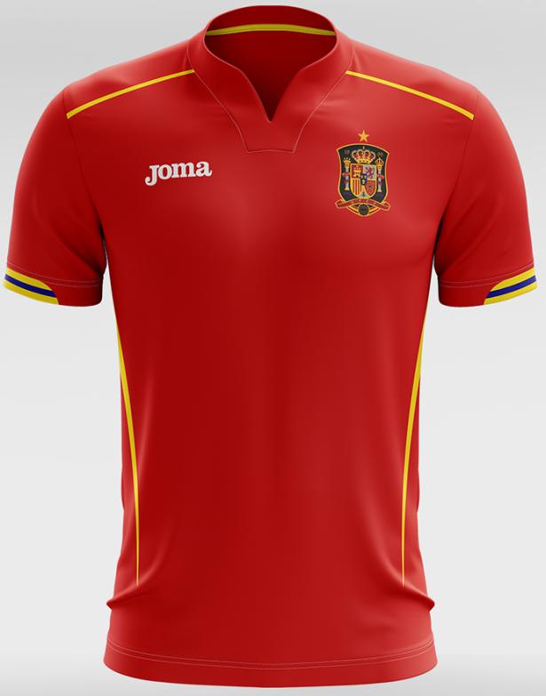 f42997be71 Designer cria camisas de seleções inspiradas em fabricantes locais ...