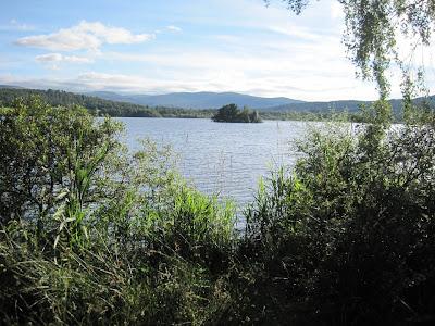 An island on Loch Kinord