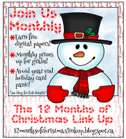 The 12 Months of Christmas Link Up Blog