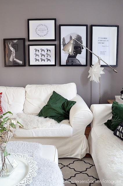 Wohnzimmer Weihnachten