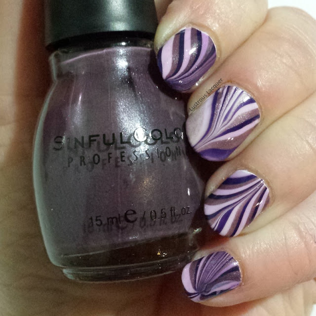 nail-art-water-marble-manicure-purple