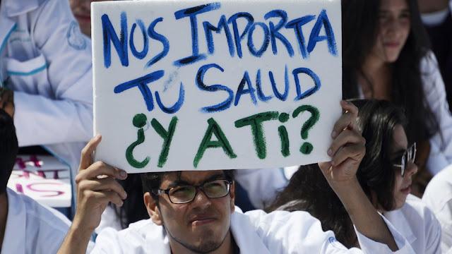 Gremio de la salud marchará este miércoles en Caracas