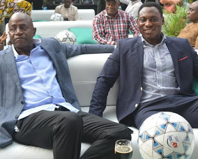 nigerian football legend reunite