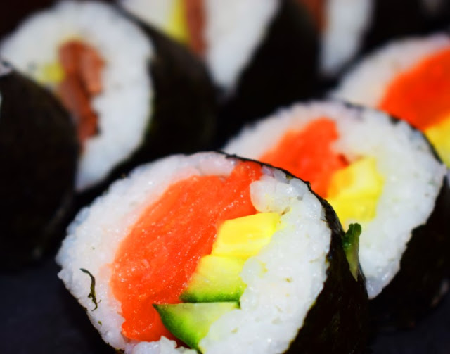 HOMEMADE SYN FREE SUSHI RECIPE
