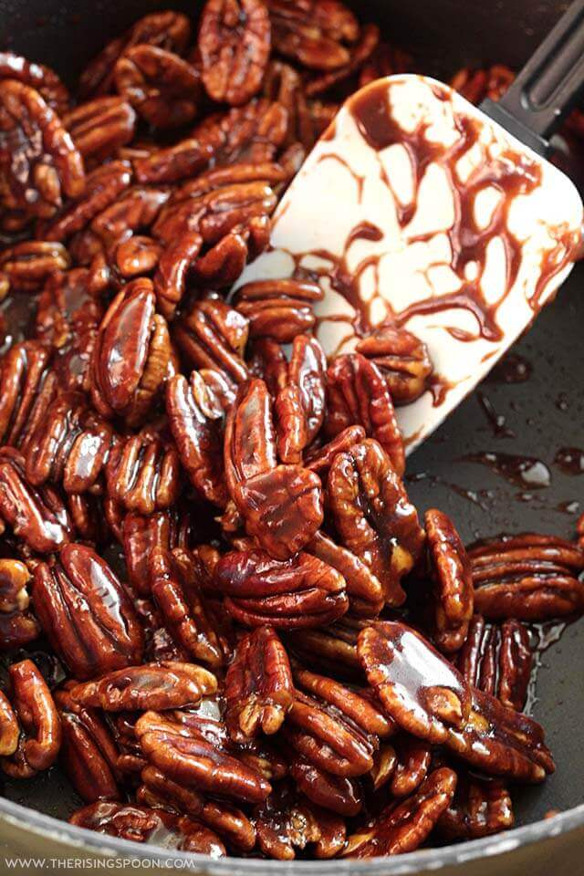 How to Make Stovetop Candied Pecans (Quick & Easy Recipe)