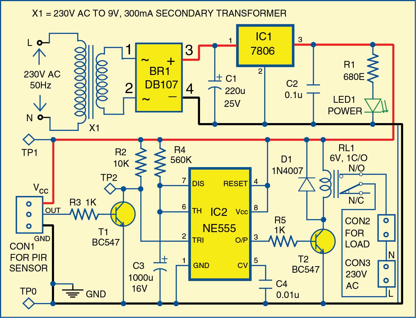 Home Security Alarm2 further 334955291007175516 likewise Pir Sensor 2wire Wiring Diagram likewise Pir Motion Detector Circuit Diagram as well Sensor Wiring Schematic. on pir motion sensor circuit diagram 7