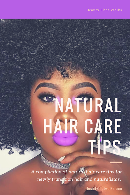 Natural Hair Care Tips