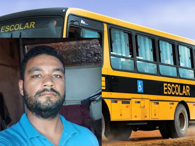 Chapada: Motorista de ônibus Escolar é morto a tiros, em Utinga