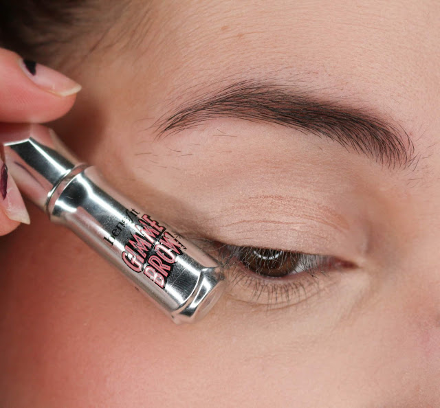 Gimme brow de benefit vs make me brow d'essence