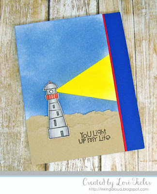 You Light Up My Life card-designed by Lori Tecler/Inking Aloud-stamps from Paper Smooches