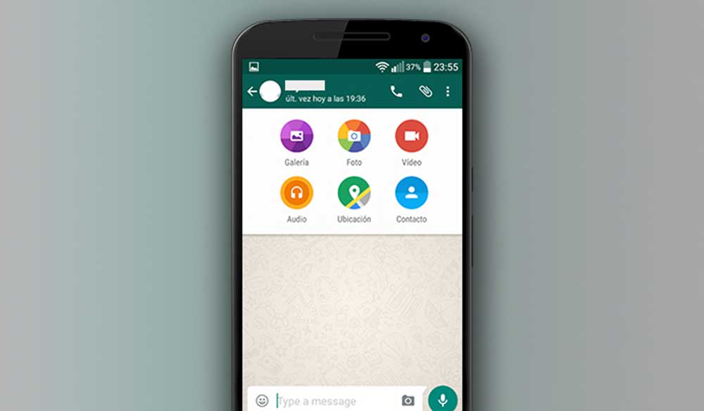 Android için Material Tasarımlı WhatsApp