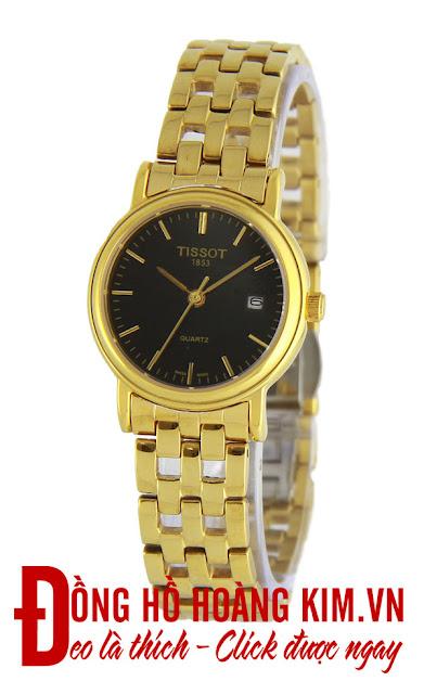 Đồng hồ đeo tay nữ Tissot dây inox giá rẻ dưới 1 triệu