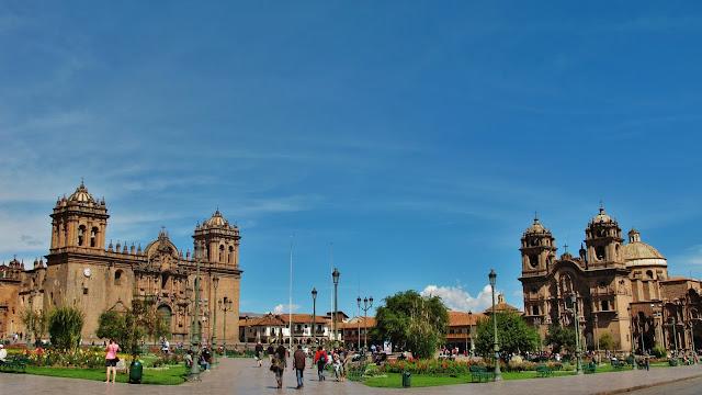 Plaza de Armas de Cusco, no Peru.