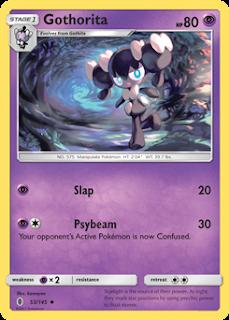 Gothorita Guardians Rising Pokemon Card