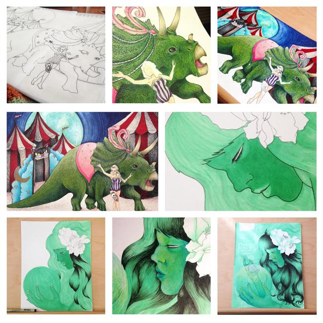 Sketchbook Round-Up: Volume 18   Yeti Crafts