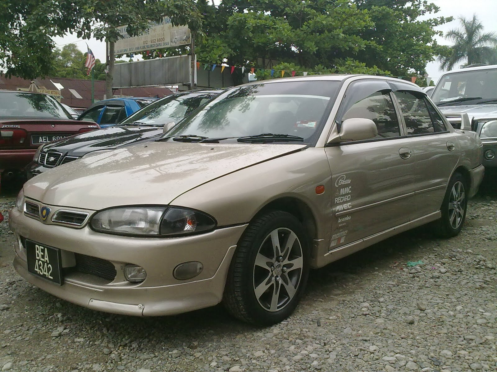 Proton wira manual for sale