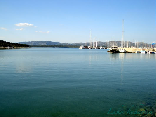 Vodice bez vode by Laka kuharica: travelog from Vodice, Croatia.
