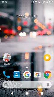 android oreo screenshot