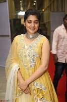 Nivetha Thamos in bright yellow dress at Ninnu Kori pre release function ~  Exclusive (31).JPG