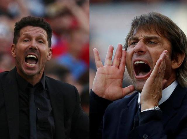 Simeone vs Conte: Duel Dua Pelatih Serupa Tapi Tak Sama