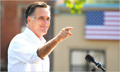 Romney Battle Obama in 2012 Election