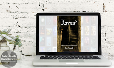 Mockup of RAVEN 3 by Tim Pearsall on laptop screen