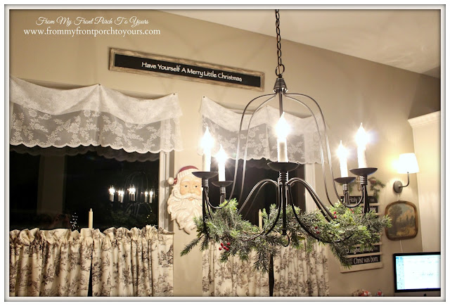 Farmhouse-Chandelier-Lighting- Breakfast Nook-From My Front Porch To Yours