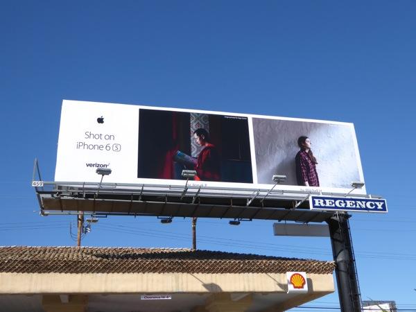 Shot on iPhone 6s Jirasak P Mitchell H billboard