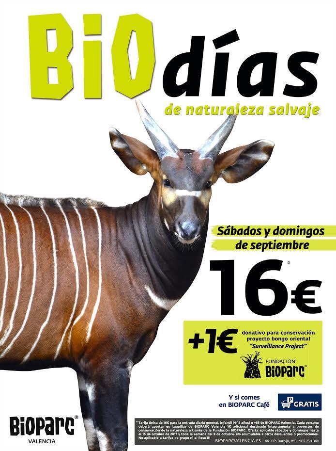 Biodías en Bioparc Valencia