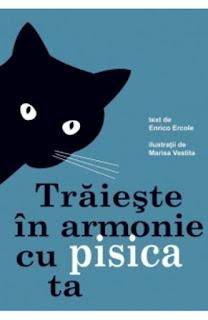 Comanda de aici aceasta carte cu sfaturi cu si despre pisici