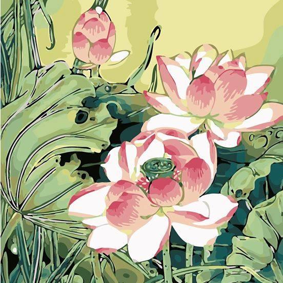 Tranh son dau so hoa tai Hoc Mon