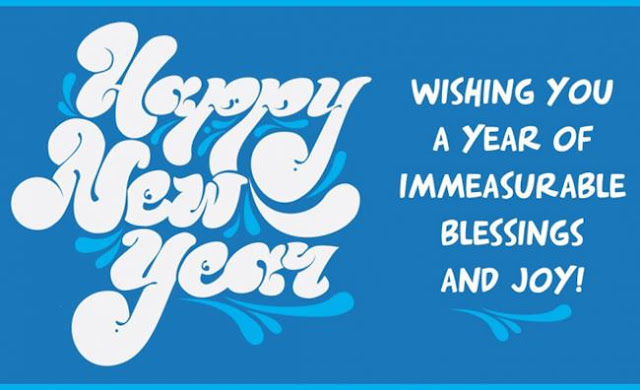 happy new year greetings to friends