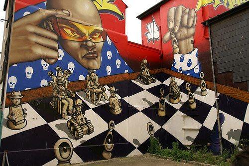 Kumpulan Gambar Mural Dinding Keren