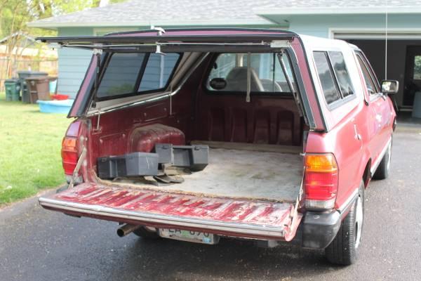 Low Mileage 1986 Subaru Brat For Sale - 4x4 63k Miles
