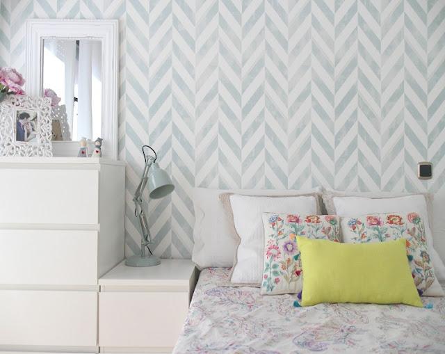 Blanco vintage - Papeles pintados dormitorios ...