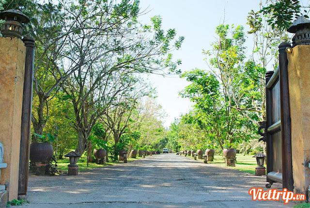 Một góc thiên nhiên tại Hồ Tràm beach resort