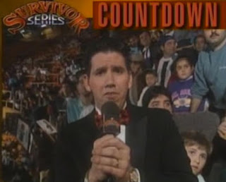 WWF / WWE Survivor Series 1993: Todd Pettingill in the Survivor Series countdown