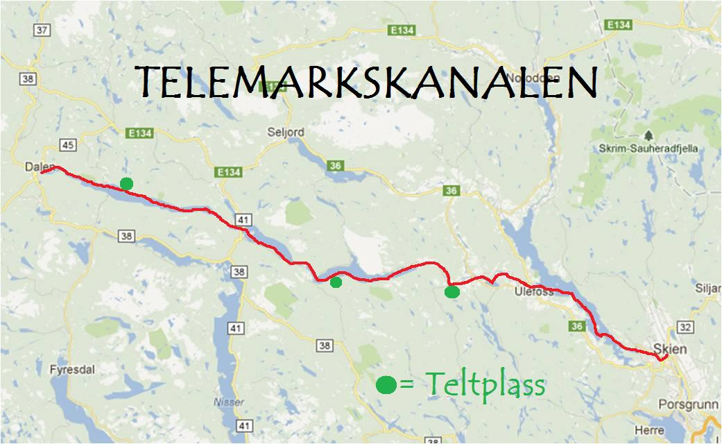 telemarkskanalen kart To på eventur: Telemarkskanalen telemarkskanalen kart