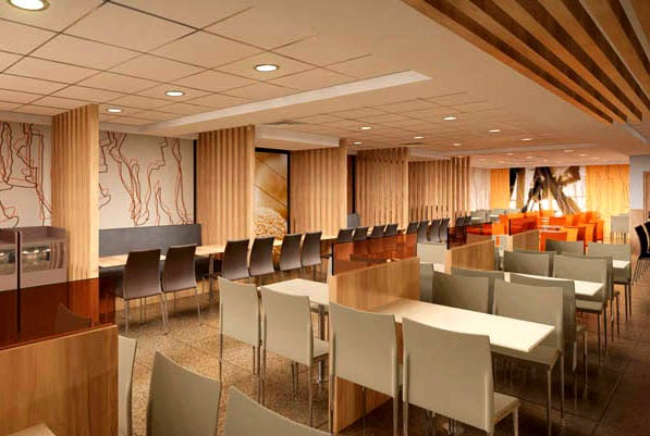 Interior Design Online Store 3d Restaurant Design