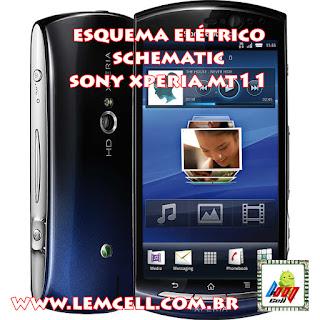 Esquema Elétrico Celular Smartphone Sony Ericsson Xperia neo V Manual de Serviço  Service Manual schematic Diagram Cell Phone Smartphone Sony Ericsson Xperia neo V
