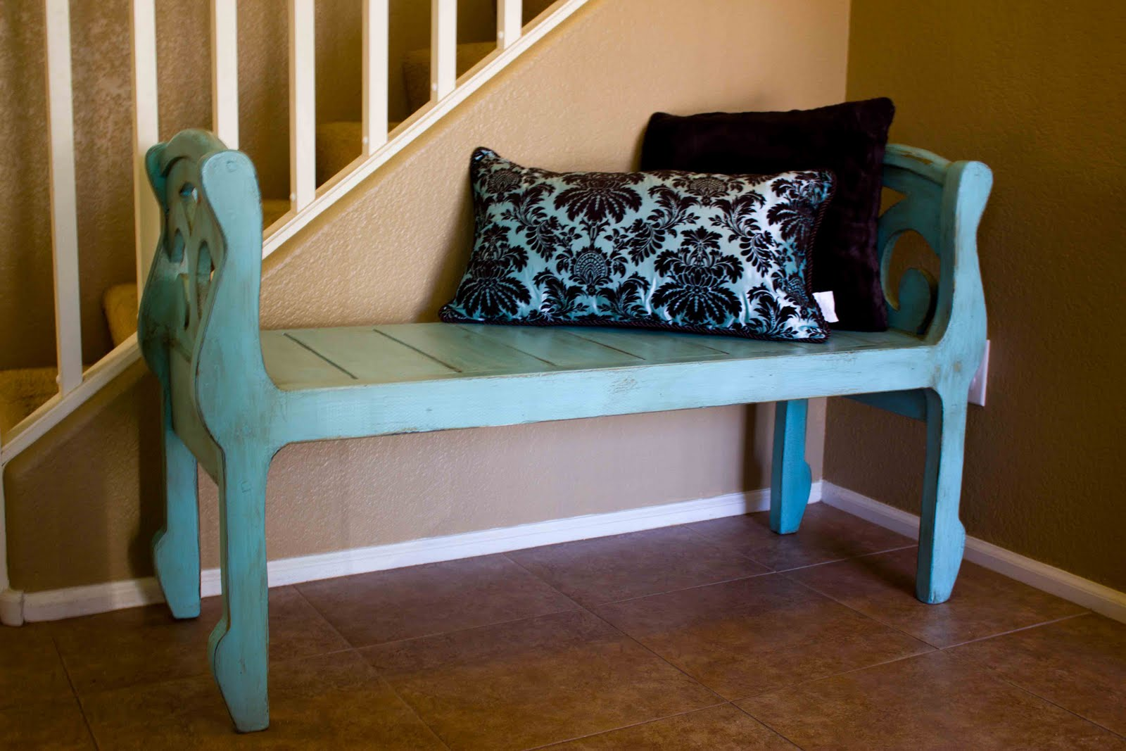 Bench By Bed: New To You: Entryway Or End Of Bed Bench