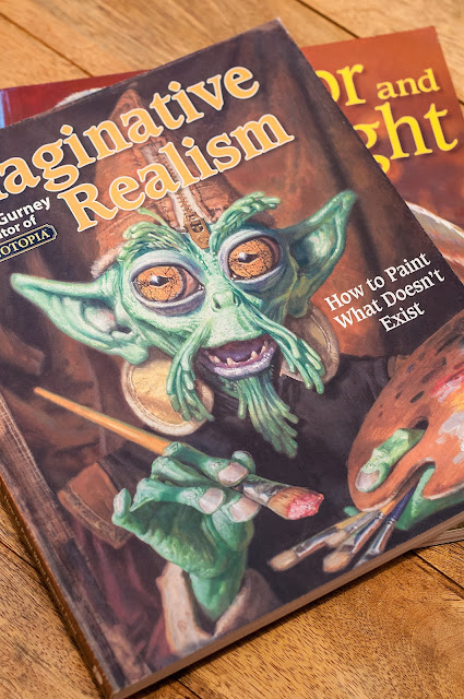 Cover Imaginative Realism James Gurnery art book review for students