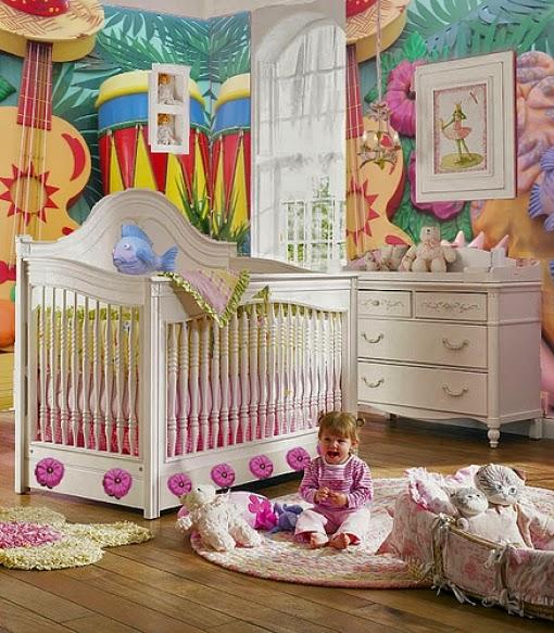 Dormitorio tema música bebé