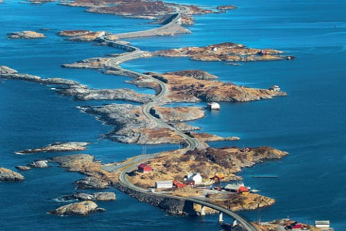 THE ATLANTIC ROAD Norwegia, 8 km