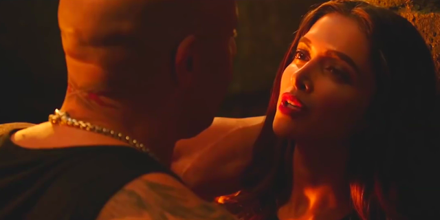 xXx: Return of Xander Cage, Vind Diesel, Deepika Padukone, getting cozy