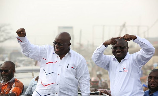Akufo-Addo overcomes, sweeps 6 regions to victory